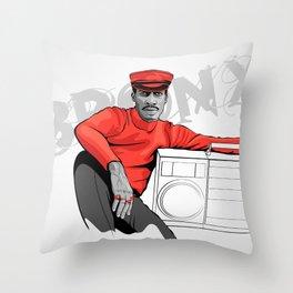 Grandmaster Flash - TrincheraCreativa Throw Pillow