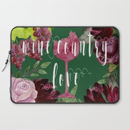 Wine Country Love Laptop Sleeve