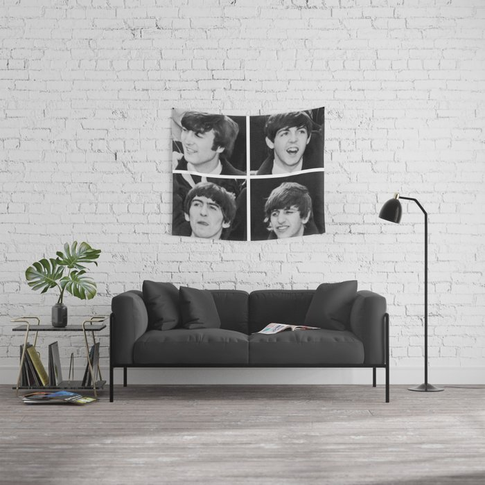 FAB FOUR Wall Tapestry