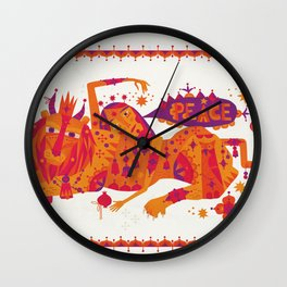 I Wish You Peace Wall Clock