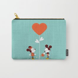 Minnie and Mickey Mouse Carry-All Pouch