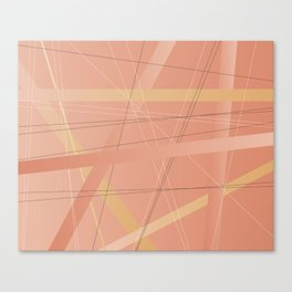 Criss Cross Background Canvas Print