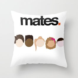 Misfits Cheers Throw Pillow