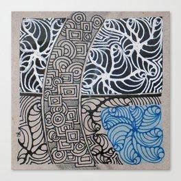 B3W Canvas Print