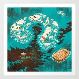 Malaysian Mystery Art Print