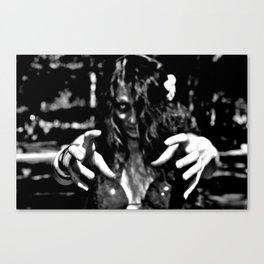 Undead Touch Canvas Print