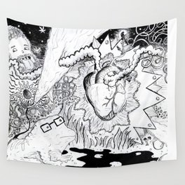heart of magic Wall Tapestry