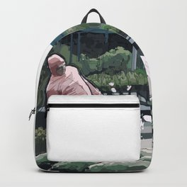 Pink Guy Backpack