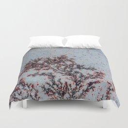 Sakura Moss Agate Duvet Cover