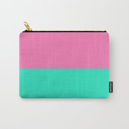 That Pink Ocean Teal Carry-All Pouch