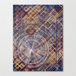 Primary Portals Canvas Print
