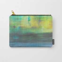 Beach at dusk; the day you took me to Hong Kong Harbour. Carry-All Pouch