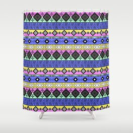 Ornament in the style of hippies 1. Shower Curtain