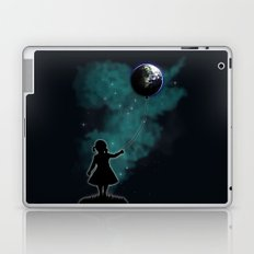 The Girl That Holds The World Laptop & iPad Skin
