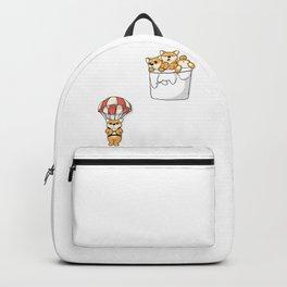 Cute Pocket Shiba Inus Backpack