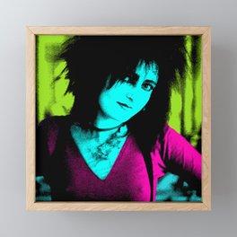 Siouxsie Sioux Framed Mini Art Print