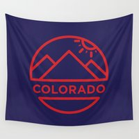 colorado Wall Tapestries featuring Colorado by BMaw