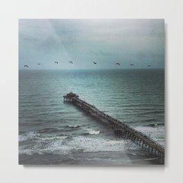 Rainbow Beach Metal Print