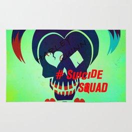 "Harley Quinn ""Suicide Squad"" Rug"