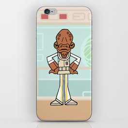 EP6 : Admiral Ackbar iPhone Skin