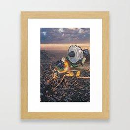 Cockroach Airways Framed Art Print