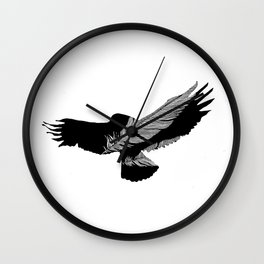 Featherbird Wall Clock