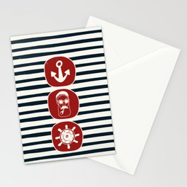 Anchor & Sailor Stationery Cards