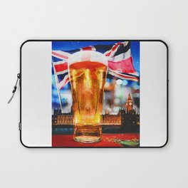 English Beer In A London Pub Laptop Sleeve