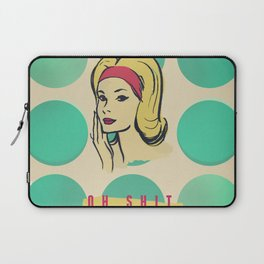 oh shit Laptop Sleeve
