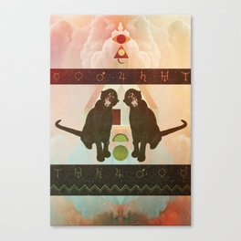 Temple of Strength Canvas Print