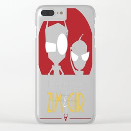 Adventures of Zim & Gir Clear iPhone Case