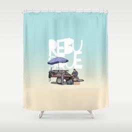rebusque2 Shower Curtain