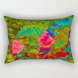 Partyin' in the garden... Rectangular Pillow