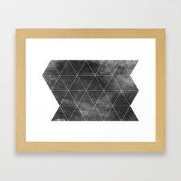 OVERCΔST Framed Art Print