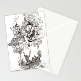 Dreaming Alice Stationery Cards