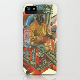 We penetrated deeper and deeper into the heart of darkness iPhone Case