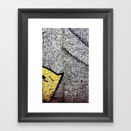 Peekaboo! Framed Art Print
