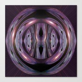 Argumentative Azalea Meets 3-D v.2 Canvas Print