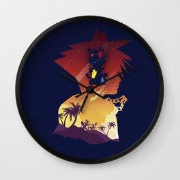 The Many Faces of Games: Kingdom Hearts Sora Ver. Wall Clock