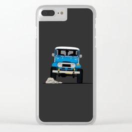 FJ40 Clear iPhone Case