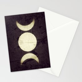 Triple Moon Goddess Stationery Cards