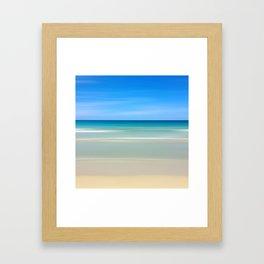 Beach Scene 8.12 Framed Art Print