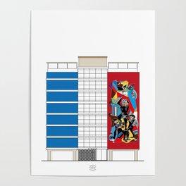 Edificio Viulma Poster