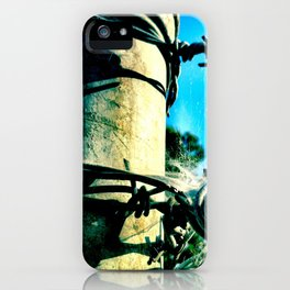 This is a fence. iPhone Case