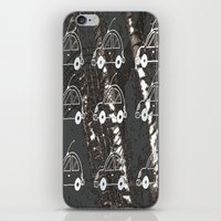 cars iPhone & iPod Skins featuring Cars by Art & Fantasy by LoRo