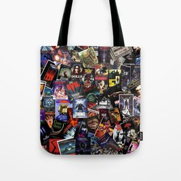 Horror Movie Vintage Collection Tote Bag