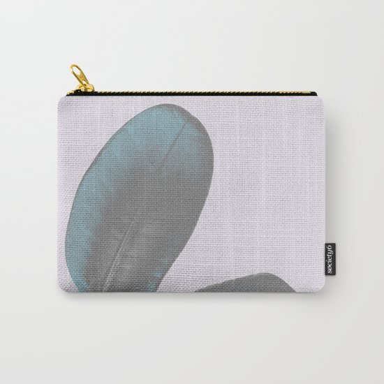 Ficus Elastica #6 #pastel #violet #art #society6 Carry-All Pouch