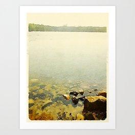 Swan Lake State Park, Maine Art Print