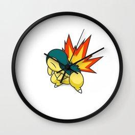 Cyndaquil #155 Wall Clock