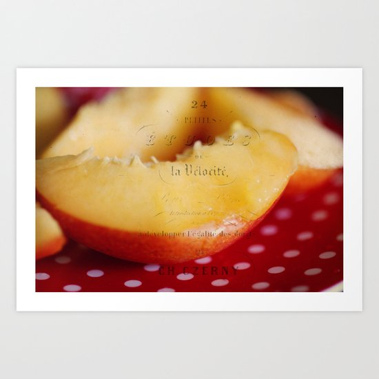 juicy fruit Art Print